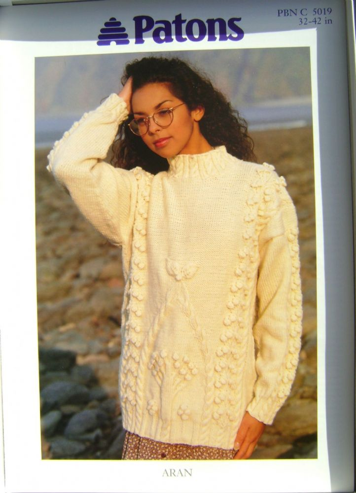 Patons Knitting Pattern 5019